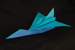 paper airplane