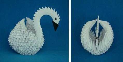 origami swan