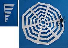 paper spider web