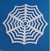 kirigami spider web