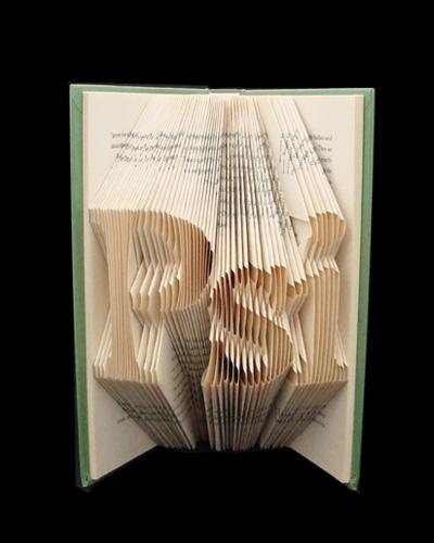 folded book art origami